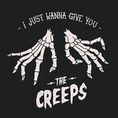 Imagen de creeps, skeleton, and creepy