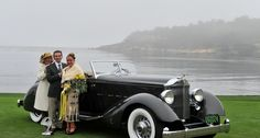 Even if the mist was thick enough to rival the Nürburgring, the scenes at the 2013 Pebble Beach Concours d'Elegance were simply breathtaking. Cathy Dubuisson visited the Concours on Sunday morning to capture the sights with her camera. Luxury Auto, Luxury Cars, Vintage Cars, Antique Cars, Pebble Beach Concours, Concours D Elegance, Love Car, Car Detailing, Cars Motorcycles