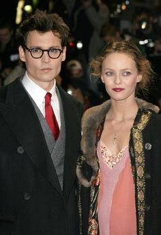 Pin for Later: The Most Shocking Celebrity Breakups Ever Vanessa Paradis and Johnny Depp