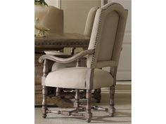 Hooker Furniture Dining Room Sorella Upholstered Arm Chair 5107-75500