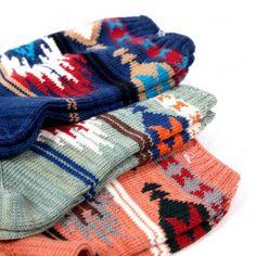 Navajo socks for fall