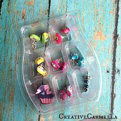 Creative Carmella: Scentsy Container into.... Earring Holder
