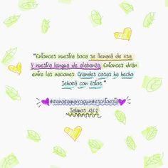 """""""Nosotros le amamos a el, porque el nos amo primero... Y tenemos este mandamiento de el: El que ama..."""