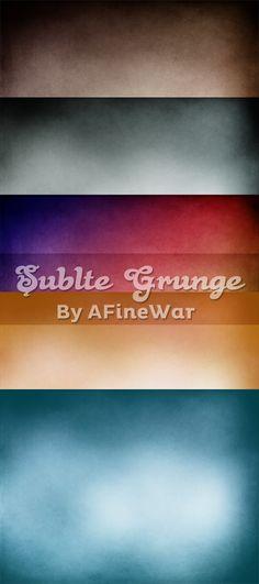 Subtle Grunge by =AFineWar