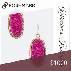 Coming soon!!! Vintage Style Druzy Stone Earrings New Boutique Druzy Stone Drop Earrings. Coming soon!!! Currently available in Fuchsia and Ivory on my page. These will be $10 each! Save even more by bundling. ❤The item you see is the exact item you will receive. Shop with confidence! ♥Brand new boutique items ♥100% Smoke and pet free environment  ♥Same or next business day shipping ♥Bundle discounts 10% ❌No trades. Sorry ladies! Katherine's Koncepts  Jewelry Earrings