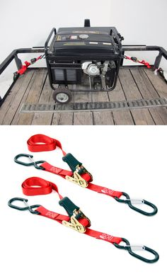 "Cargo Straps Tie Downs 2 1/"" x 3/' Camping Off Road Racing Truck Trailer Humvee"