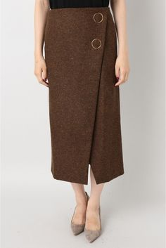 M.MARTIN Wrap スカート◇ Skirt Pants, Dress Models, Style Inspiration, Scottish Highlands, Introvert, Knitting, My Style, Clothes, Detail