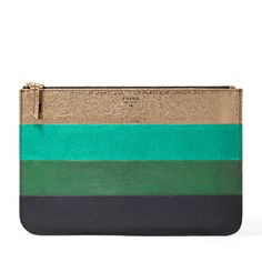 Fossil Colorful Zip Pouch ($60) | Fabulous Gifts For Gals | THE MINDFUL SHOPPER