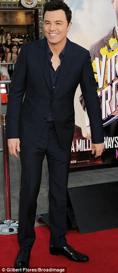 Seth MacFarlane at the A Million Ways To Die In The West premiere in LA