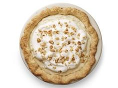 Maple-Walnut Cream Pie : Heavy cream and maple syrup make a silky, sweet pie filling. Crunchy chopped walnuts and fresh whipped cream make every slice taste like the ultimate breakfast pancake.