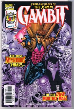 gambit comic cover | Home :: Marvel Comics :: Gambit (1999) :: Gambit #1 (Ace) Comic Book