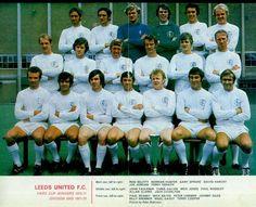 August 1970. Leeds United team photo