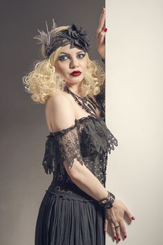 https://flic.kr/p/Ha4385 | Coquette | Photo by SteveO MUA/Stylist/Model Azadeh Brown #azadeh #azadehbrown #goth #gothmodel #alternative #alternativemodel #gothfashion #gothic #darkphotography #burlesque #elegant #model #modelling #vogue #persianmodel #persian #beauty #makeup #darkbeauty #vintage #eyes #fashion #femmefatale #doll #black #blacklace #pin up #1920s #1930s #artdeco #artnova #greatgatsby #cabaret #showgirl #hollywood #silentmovie #silverscreen #boudoir #louisebrooks
