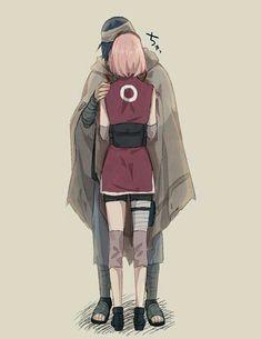 Sakura & Sasuke (Sasusaku)