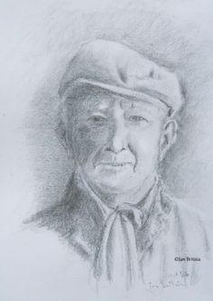 Pencil drawing 1986 by Jan Britsia