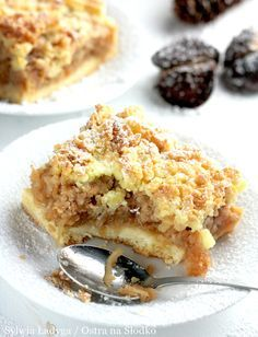 Polish Recipes, Polish Food, Apple Cake Recipes, Cooking Recipes, Healthy Recipes, Healthy Baking, Macaroni And Cheese, Sweet Tooth, Food And Drink