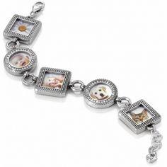 Beautiful!    Memento Photo Bracelet  available at #Brighton
