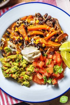 Recipe for vegetarian Mexican hair salon avocado sweet potato beans Jum Jum. Recipe for vegetarian Mexican hair salon avocado sweet potato beans Jum Jum avocado beans hai Good Healthy Recipes, Veggie Recipes, Mexican Food Recipes, Vegetarian Recipes, Healthy Diners, Hello Fresh Recipes, Vegetarian Mexican, Cheddar, Happy Foods