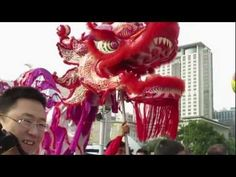 The Dragon and Lion Dance Carnival 2013 was staged in Tsim Sha Tsui on January 2013 in Hong Kong. It showcased Golden Dragons, Northern and Southern Lion. Chinese Lion Dance, Dance Music Videos, Pre Production, Winter Art, Hong Kong, Dragon, Youtube, Dragons, Youtubers