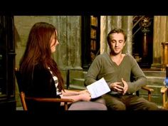EXCLUSIVE VIDEO: Tom Felton, Bonnie Wright, The Phelps twins & more talk Harry Potter