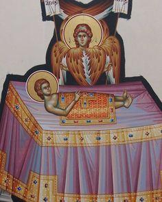 Byzantine Icons, Religious Icons, Fresco, Oc, Fresh