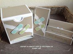 Schönes aus Papier handgemacht!: Anleitung Rezeptbox und ein Krankenbesuch