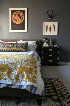 Bedroom designed by Julieta Alvarez Interiors #bedroom #interiordesign