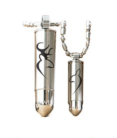 Southern Sisters Designs - Buck and Doe Bullet Pendant Set Silver, $26.95 (http://www.southernsistersdesigns.com/buck-and-doe-bullet-pendant-set-silver/)