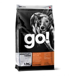 A fave in our house!  Mix in some canned salmon and we have the happiest dogs ever!