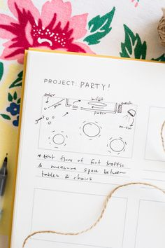 Use our Storyboard page to plan a party! Everyone knows the set up of an event can make a big difference, so sketch out the flow of traffic and placement of tables, music, etc. using this planner page. Head to our blog to see more ways to use this page! Planner Pages, Storyboard, How To Plan, How To Make, Desktop, Bullet Journal, Party, Projects, Blog