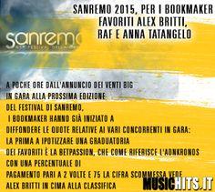 Parliamo di Sanremo, +Alex Britti il favorito!