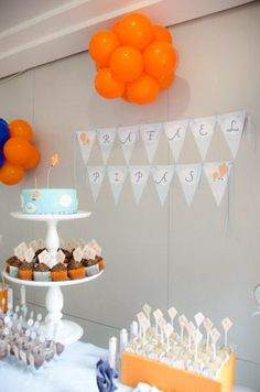 Kite themed 1st birthday party