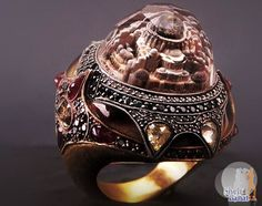 A Seven Bicakci design hand made ring  just beautiful a whole city captured in a ring.