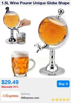 1.5L Wine Pourer Unique Globe Shape Beer Tower Bar KTV mini Liquid Water Juice Soda Dispenser Tools Pourer Machine * Pub Date: 18:14 Apr 11 2017