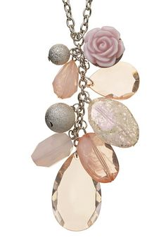 Rose Cluster Bead Pendant Necklace - maurices.com