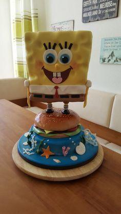 spongebob - Cake by jules81