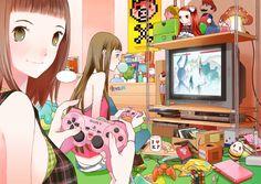 ✮ ANIME ART ✮ anime. . .otaku. . .nerd. . .friends. . .videogames. . .anime. . .merchandise. . .room decor. . .cute. . .kawaii