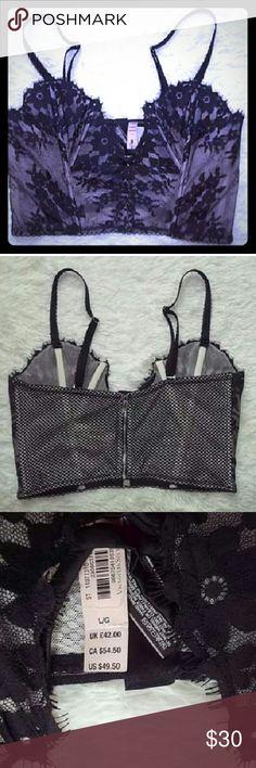 Large  Corset Large corset new with tags! Black. Victoria's Secret Intimates & Sleepwear
