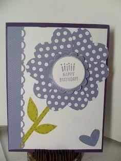Sharons Inkie Fingers: birthday card