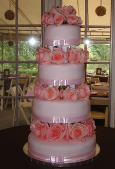 pink wedding cakes | Birthday Cakes | Wedding & Grooms Cakes | Holiday Cakes | Special ...