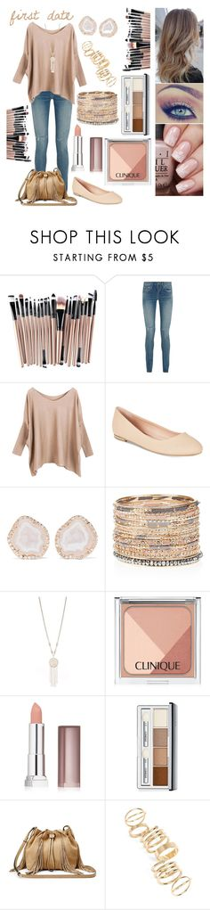"""•first date•"" by alliebell23 ❤ liked on Polyvore featuring Yves Saint Laurent, Call it SPRING, Kimberly McDonald, Accessorize, New Directions, Clinique, Maybelline, Diane Von Furstenberg and BP."