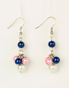 PandaHall Jewelry—Glass Pearl Earrings with Brass Earring Hooks | PandaHall Beads Jewelry Blog