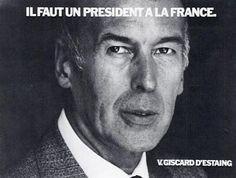13) Giscard joue la carte du devoir. « Il faut un président à la France. Il faut une France forte ». Le ton est grave face à la crise économique. Giscard est président. La France a besoin d'un président, donc la France a besoin de Giscard