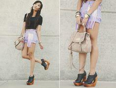 Fringe pocket shorts. I think I like it