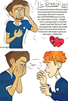 Read hi from the story in a heartbeat pics by Lunalovesgay (Gay Slytherin) with 220 reads. Gay Comics, Cute Comics, Yuri, Lgbt Love, Cute Stories, Lgbt Community, Cute Gay, Fujoshi, In A Heartbeat
