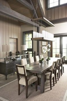 The Cliffs at Mountain Park: Private Residence eclectic dining room
