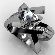 Gorgeous, stunning rings and diamond rings for that special person in your life. Diamond Jewelry, Jewelry Rings, Jewelry Accessories, Fine Jewelry, Jewelry Design, Unique Jewelry, Unique Rings, Beautiful Rings, Beautiful Pictures