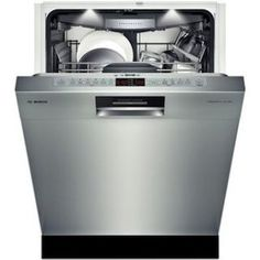Recessed Handle Dishwasher 800 Plus Series- Stainless steel Expandable wings on our flexible rack provide extra height to fit ramekins, measuring cups and extra-large utensils. Quiet Dishwashers, Best Dishwasher, Integrated Dishwasher, Modern Craftsman, Home Tech, Home Organisation, Good Housekeeping, Home Decor Kitchen, Kitchen Design