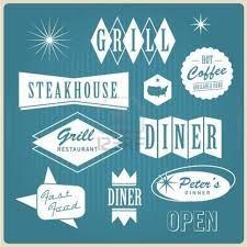 Image result for vintage blue star diner photo