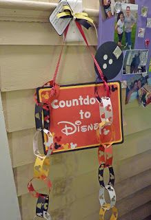 How do you countdown for your Disney trip? Made by Cool Beans by L.B.